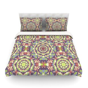 Plum Lace by Allison Soupcoff Featherweight Duvet Cover