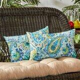 Bedfordshire Indoor/Outdoor Lumbar Pillow (Set of 2)