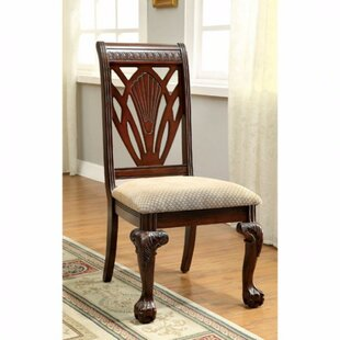 Astoria Grand Barryknoll Traditional Upholstered Dining Chair (Set of 2)