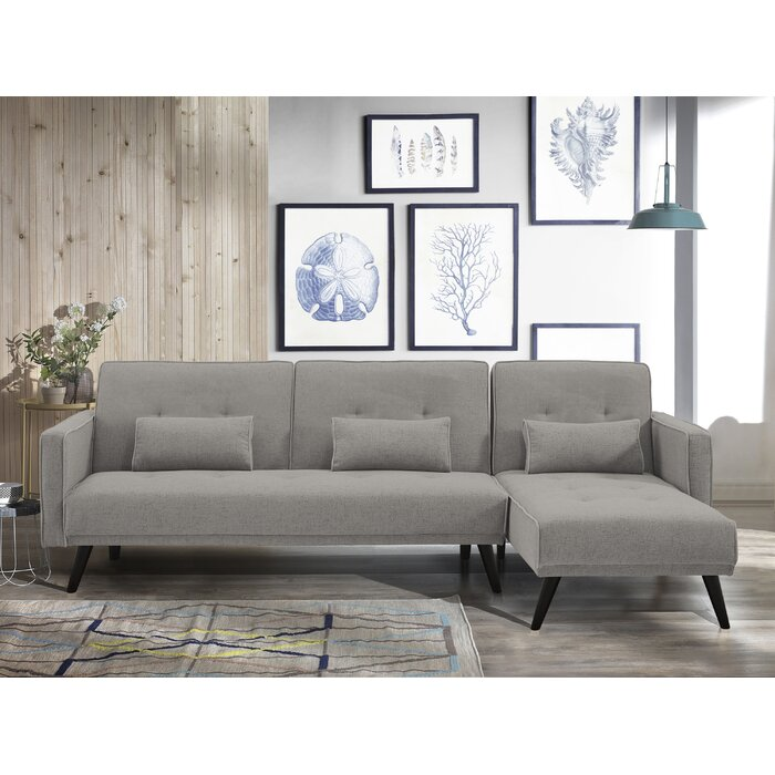 Pleasant Jenna Reversible Sleeper Sectional Camellatalisay Diy Chair Ideas Camellatalisaycom