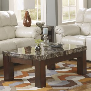 Evergreen Coffee Table with Lift Top by Loon..