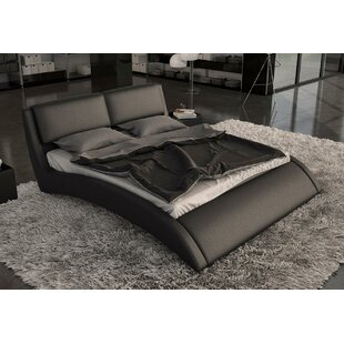 Belafonte Upholstered Platform Bed by Wade Logan