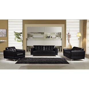Italian Configurable 3 Piece Living Room Set by American Eagle International Trading Inc.