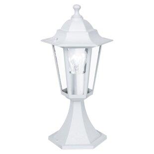Nathen 1 Light Pedestal Lantern By Brambly Cottage