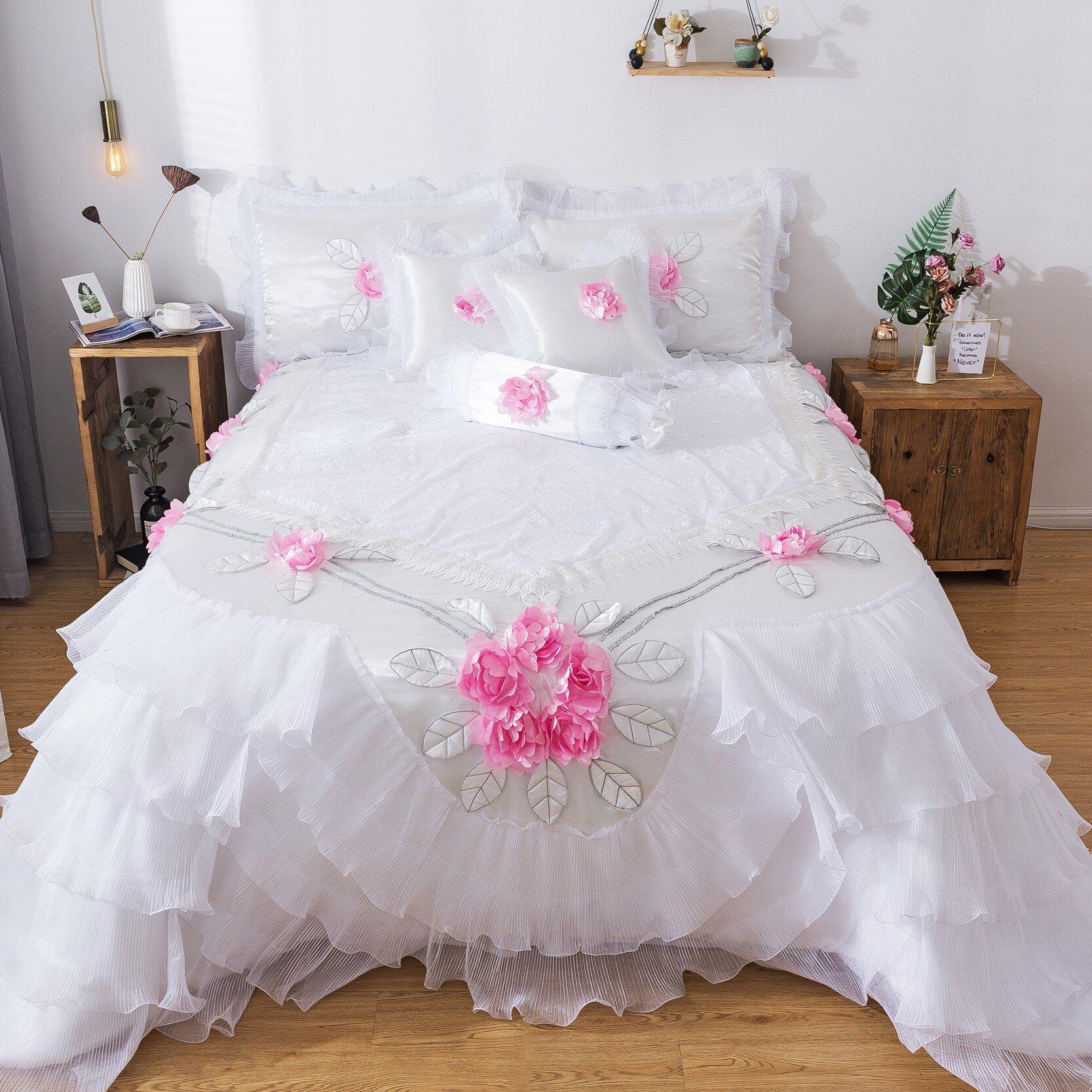 Rosdorf Park Mila Floral 6 Piece Comforter Set Reviews Wayfair