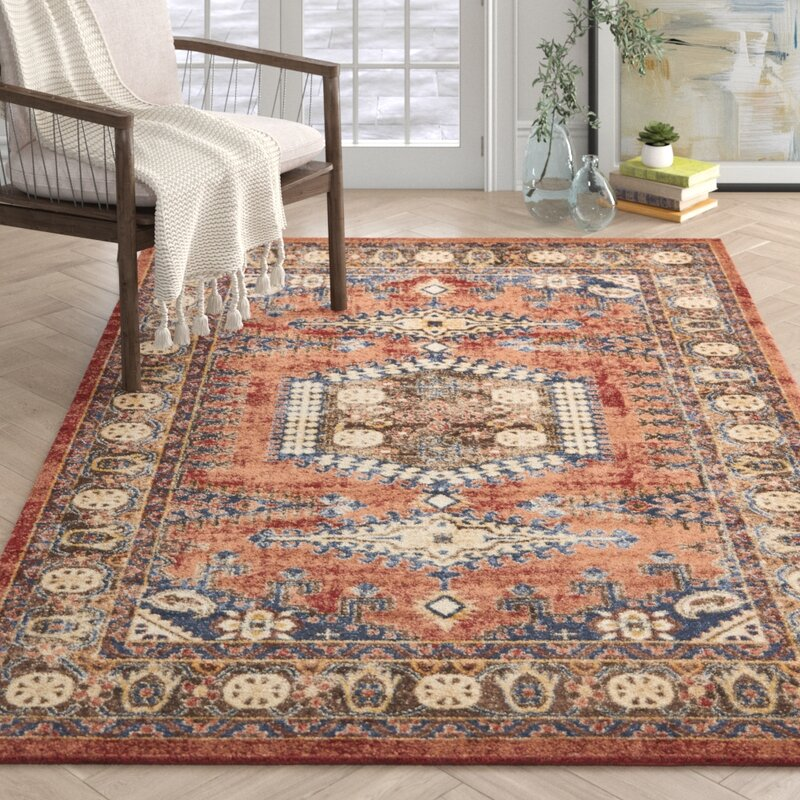 Nathanson Terracotta Area Rug Amp Reviews Allmodern