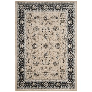 Best Taufner Light Beige/Anthracite Area Rug By Astoria Grand