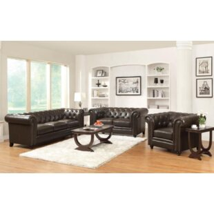 Read Reviews Desidéria 3 Piece Living Room Set by Darby Home Co Reviews (2019) & Buyer's Guide
