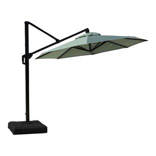 Ceylon 10' Cantilever Sunbrella Umbrella
