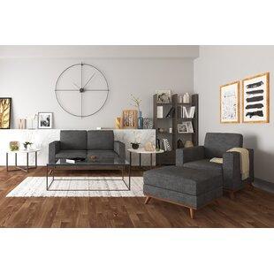Tinney 3 Piece Standard Living Room Set