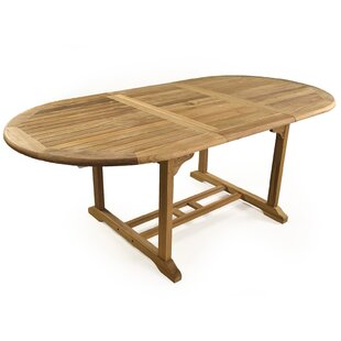 Mariana Extendable Teak Dining Table By Sol 72 Outdoor