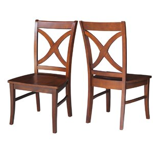 Redondo Solid Wood Dining Chair (Set of 2..
