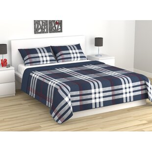 Copes Simple Plaid Quilt Set