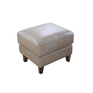 Izaiah Leather Ottoman By 17 Stories
