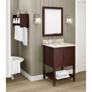 Look for Belanger 25 Single Bathroom Vanity with Mirror and Shelf ByDarby Home Co
