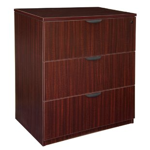 Linh Stand Up 3-Drawer Lateral Filing Cabinet