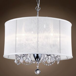 Rosdorf Park Brassington 6-Light Chandelier