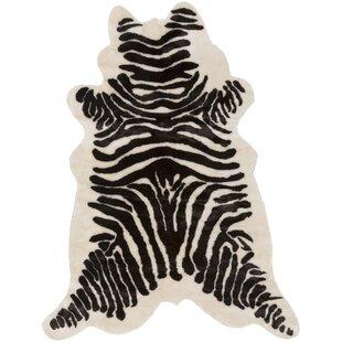 Affordable Shangrila Onyx Black/Ivory Area Rug By Mercer41