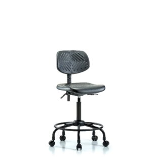 Symple Stuff Alexys Round Tube Base Office Chair