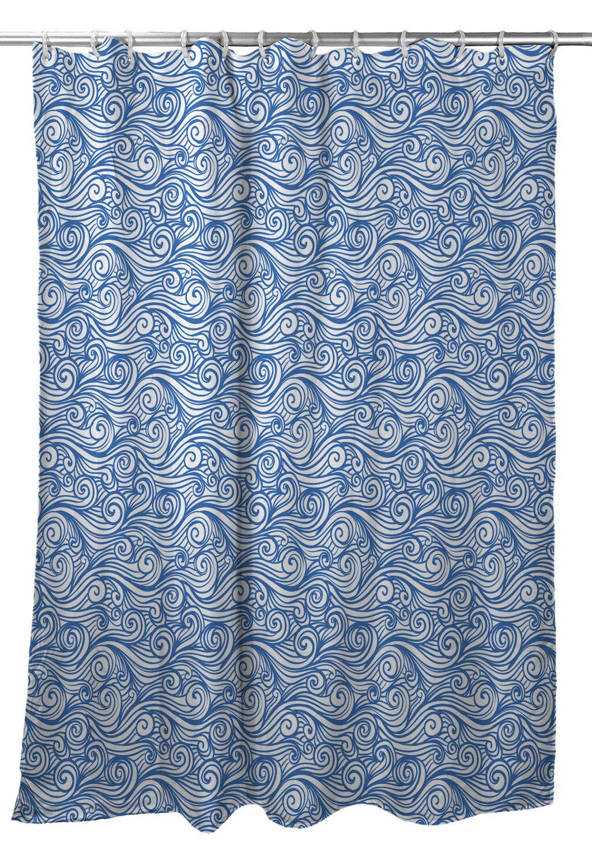 Highland Dunes Corinne Sea Single Shower Curtain Wayfair