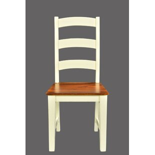 Lesley Solid Wood Dining Chair (Set of 2) by August Grove