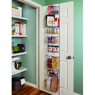 8 Tier Adjustable Cabinet Door Organizer By ClosetMaid