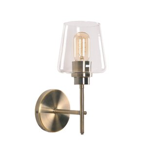 Pat Armed 1-Light Bath Sconce by Wrought Studio