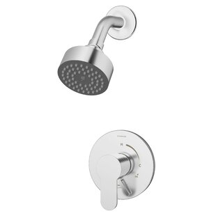 Symmons Identity Pressure Balance Spray Shower Faucet with Metal Lever Handle
