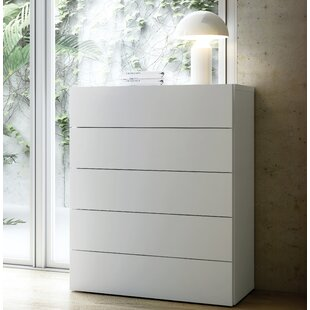 Karr 5 Drawer Chest by Mercury Row