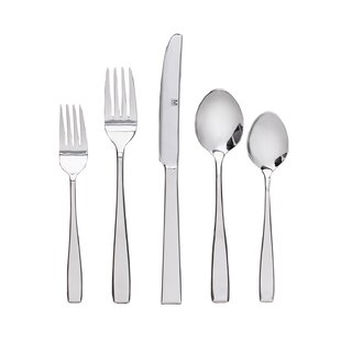 Marshallville 40 Piece Flatware Set, Service for 8