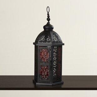 Moroccan Metal Lantern byBungalow Rose