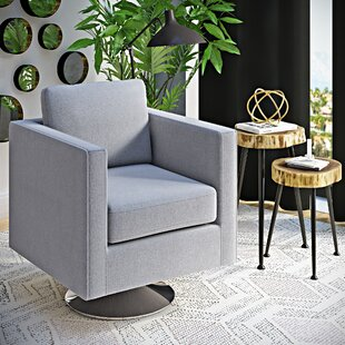 Elsmere Swivel Armchair by Wrought Studio