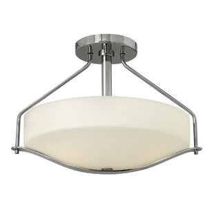 Ragin 3-Light Semi Flush Mount..