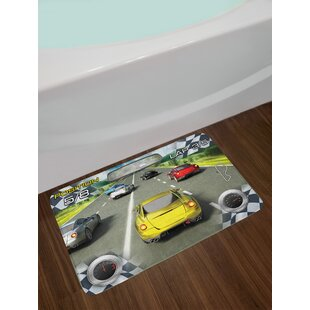 Cars Need for Speed Road Competition Bath Rug