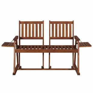 Blanding Wooden Love Seat By Sol 72 Outdoor