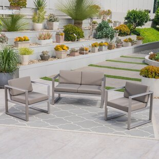 Delight 3 Piece Sofa Seating Group