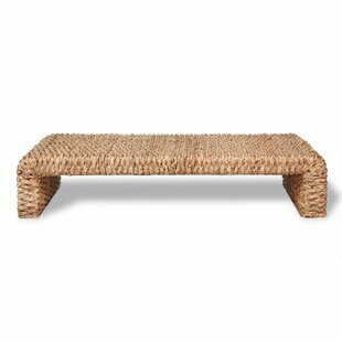 Reginald Water Hyacinth Coffee Table By House Of Hampton