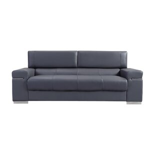 Orlando Leather Sofa by Wade Logan