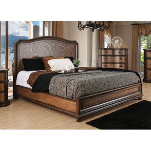 Fleur De Lis Living Barrington Transitional Panel Bed