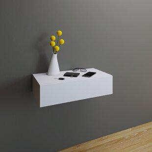 shelf uk with storage drawer white shelves hidden floating