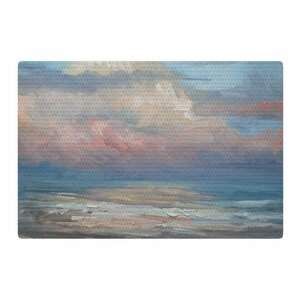 Carol Schiff Pink Clouds Blue/Gray Area Rug