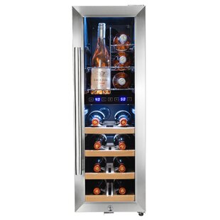16 Bottle Dual Zone Freestanding Wine Cooler