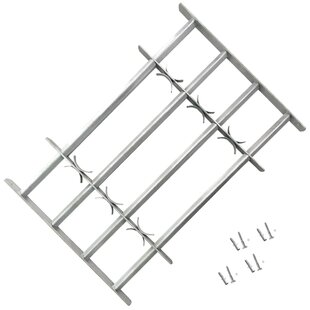 Fishel Adjustable Security Grille For Windows By Sol 72 Outdoor