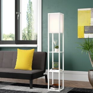 Brayden Studio Anton 143cm LED Column Floor Lamp | Wayfair.co.uk
