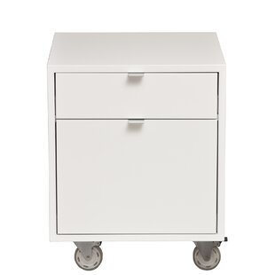 Urbangreen Furniture High Line 2-Drawer Mobile Vertical File