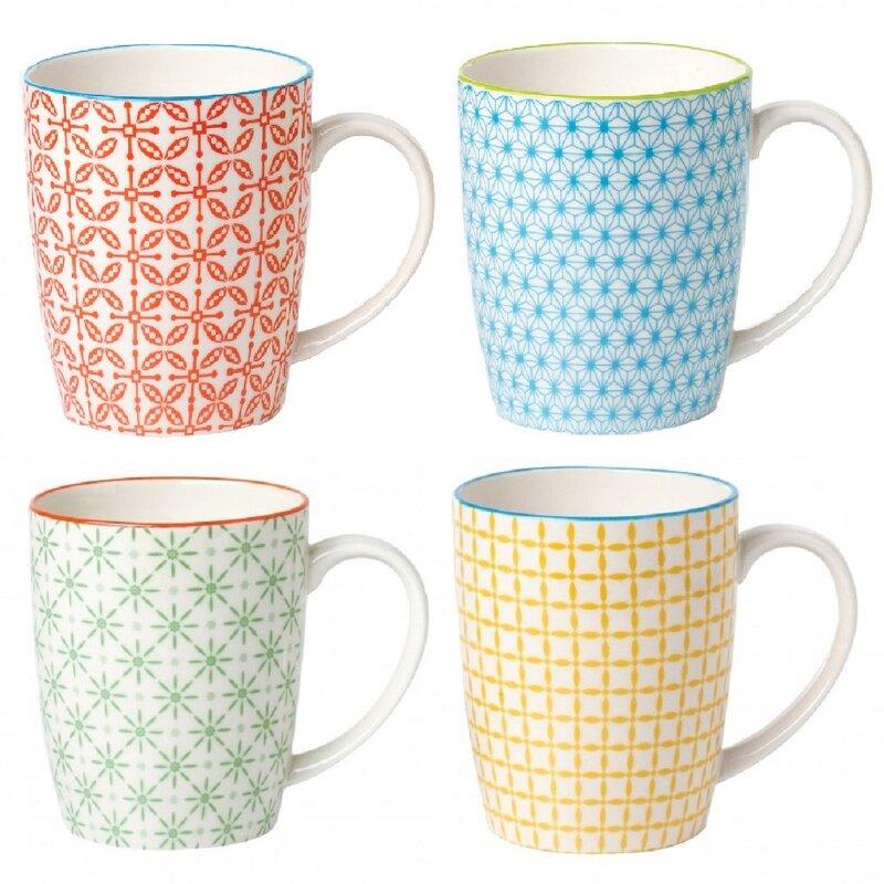 Wrought Studio Ayansh 4 Piece Coffee Mug Set & Reviews ...