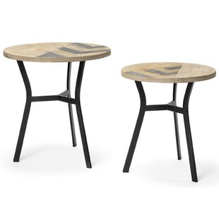 Inexpensive Baez 2 Piece Nesting Tables by Union Rustic