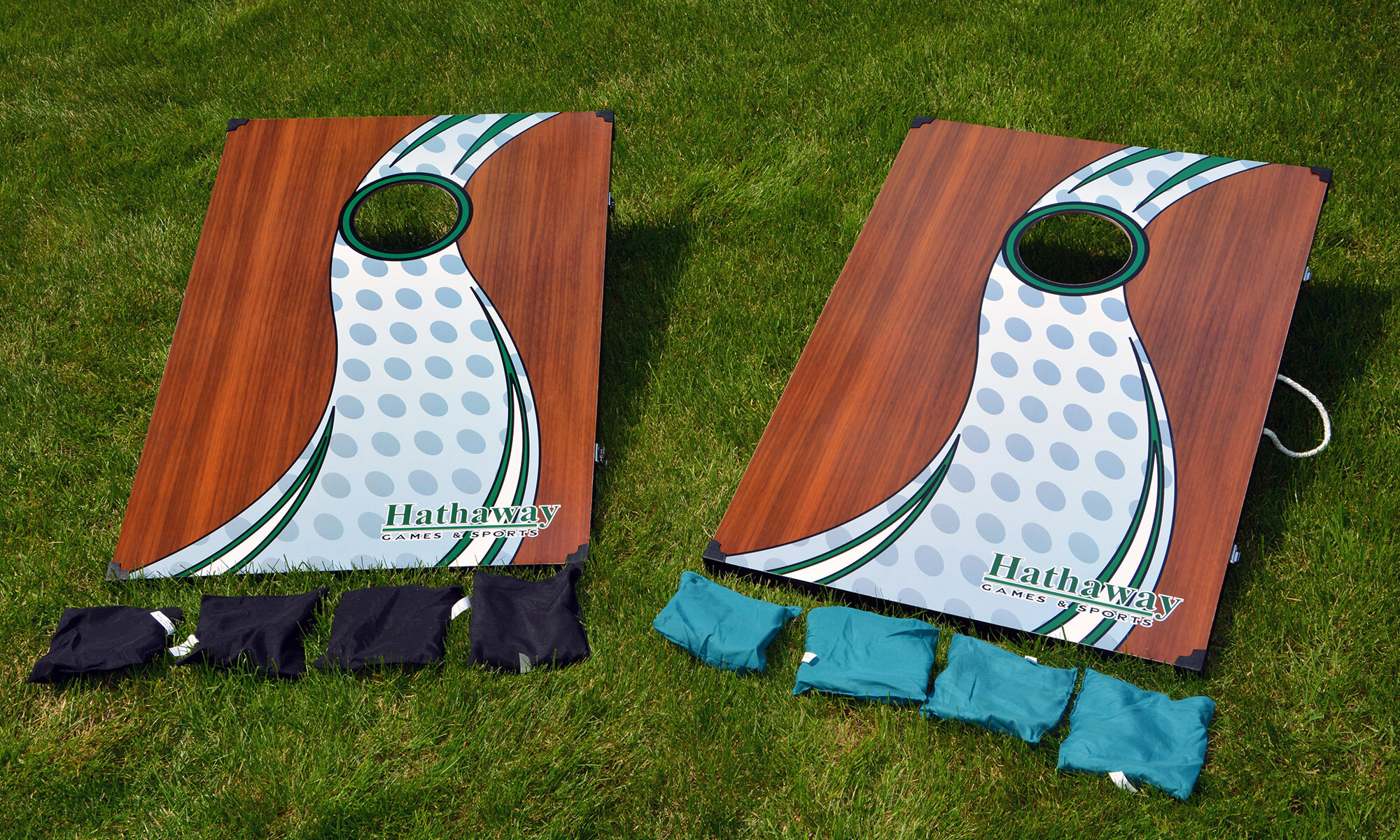 Stupendous Hathaway Games Cornhole Bean Bag Toss Game Set Reviews Ocoug Best Dining Table And Chair Ideas Images Ocougorg