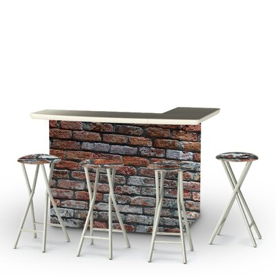 London Brick 5-Piece Bar Set by Best of Times No Copoun