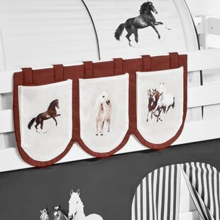 Horses Bunk Bed Pocket By Zoomie Kids